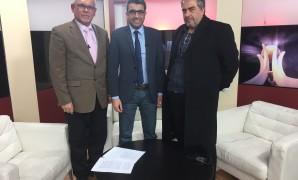 عباس بوصفوان + جواد فيروز + صلاح التكمجي + الدوار + قناة نبأ